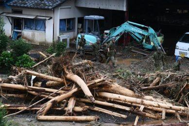 'Race against time' in Japan floods, 50 feared dead