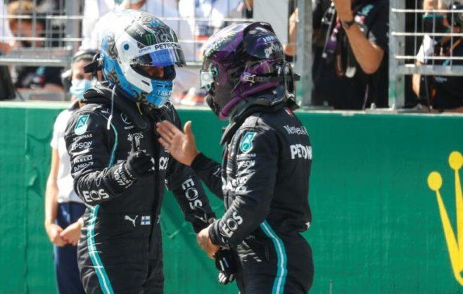 Bottas upstages Hamilton to take opening pole of season