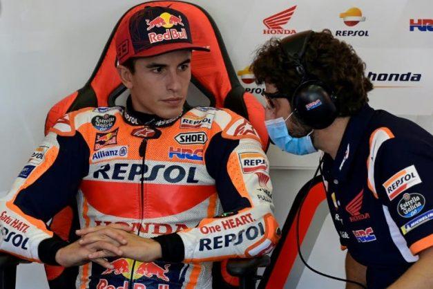 Marquez listens to body and quits Andalucia MotoGP as Quartararo grabs pole