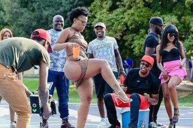 Summer bodies are made in winter: Zodwa Wabantu shows off bikini body