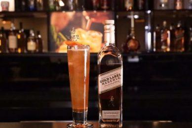 Recipe: Johnnie Walker Gold Highball cocktail