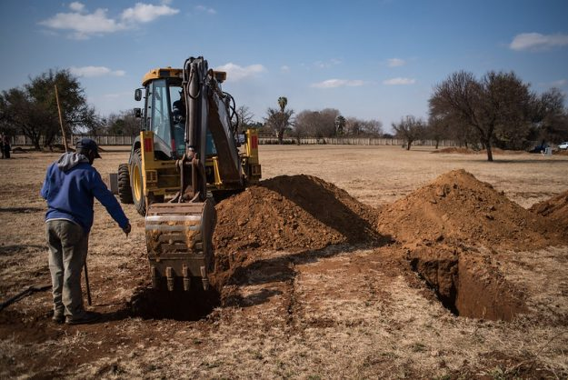 Gauteng prepares mass graves as Covid-19 infections increase