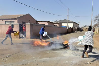 Thokoza protests are 'xenophobic attacks fuelled by poverty', say community leaders