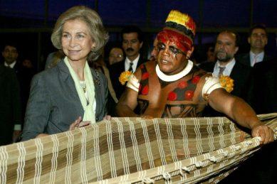 Brazil indigenous chief Aritana badly ill with virus