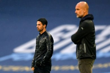 Arteta targets end to Arsenal's miserable record against Man City