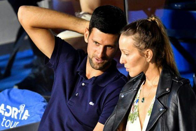 Djokovic, his wife test negative for coronavirus
