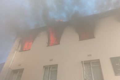 Fire damages part of children's home in Cape Town
