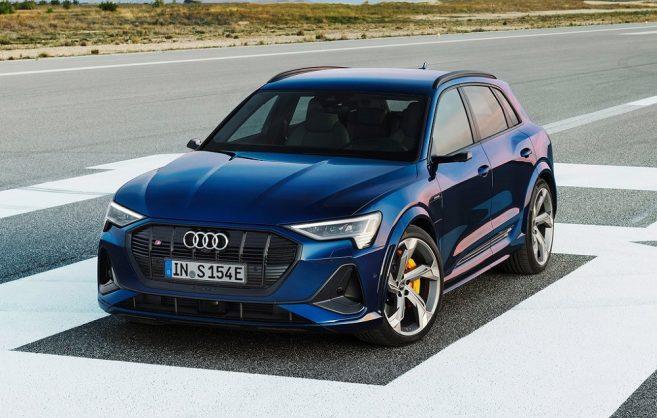 Audi inserts S charge into e-tron and e-tron Sportback