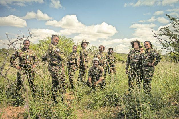 All-female Black Mambas fight wildlife poachers at Kruger Park