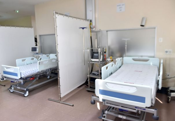 Healthcare staff running out almost as fast as beds