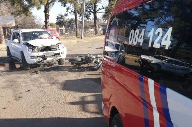 13-year-old biker seriously injured in Unitaspark collision
