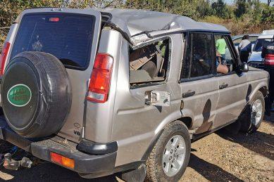 Car damaged as driver tries to avoid hitting dog in KwaZulu-Natal