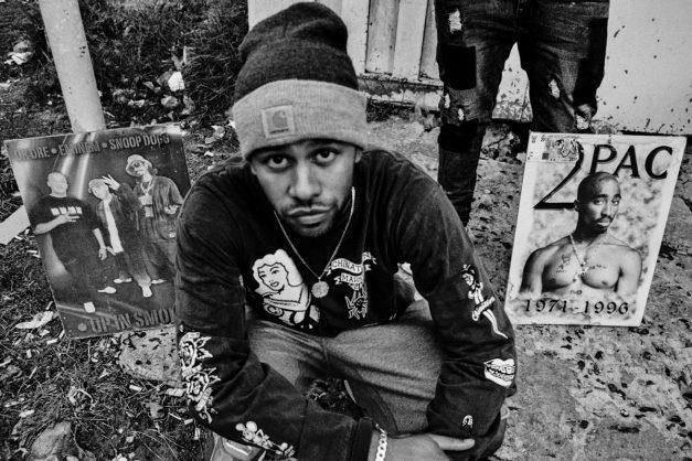 Rapper YoungstaCPT opens a barbershop