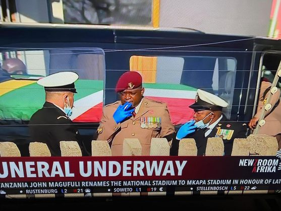 'Smoking', 'lack of social distancing' at Mlangeni's funeral causes uproar on Twitter