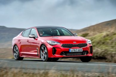 Facelift Kia Stinger spied again as engine conundrum looms