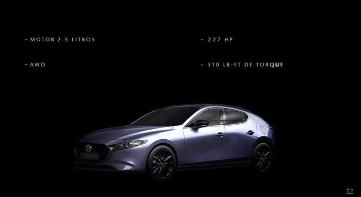 Turbocharged Mazda3's outputs revealed