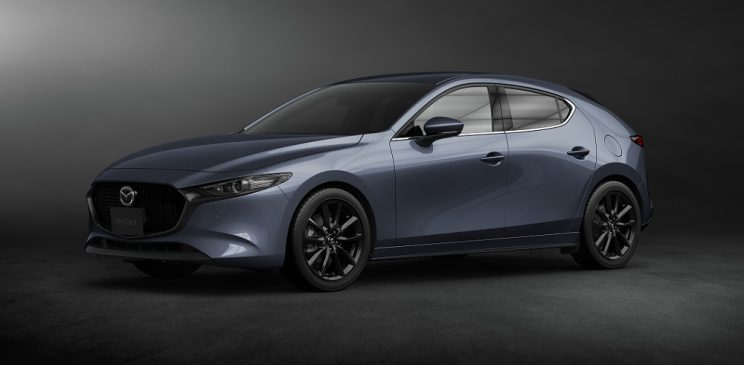 All-wheel-drive Mazda3 Turbo officially detailed