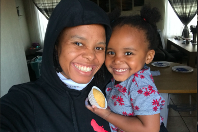 My toddler and I baked for the first time – Thanks lockdown