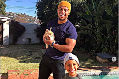 Actor Cedric Fourie starts a Twitter thread for fathers who love their children