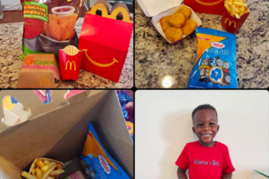 Your child demanding too much McDonalds? This mom has a solution