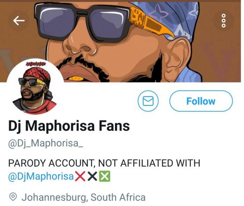Woman sends nudes to fake Maphorisa Twitter account