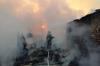 In Pictures: Fire ravages Pretoria informal settlement