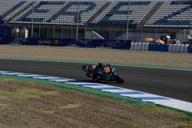 Quartararo quickest in Jerez practice as Marquez angers Rins