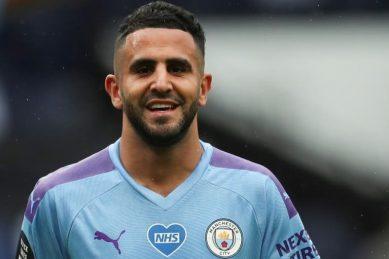 Mahrez hails Man City goalscoring power