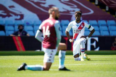 Aston Villa to investigate racist abuse aimed at Zaha