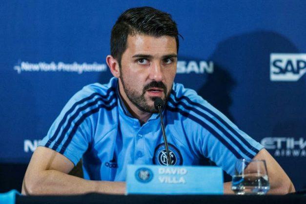 New York City FC to probe Villa harassment claim