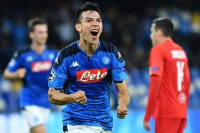 Lozano strikes for Napoli to leave Genoa in drop zone