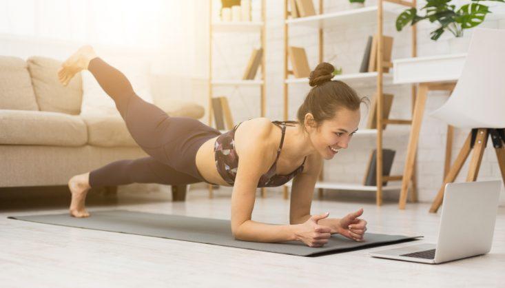 Lockdown online workouts