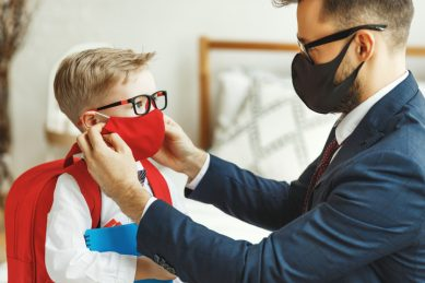 Your toddler does not want to wear a mask? Here are ways to encourage them