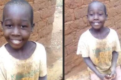 Aww! We just love kids who sing
