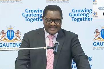 Gauteng Premier Makhura tests positive for Covid-19