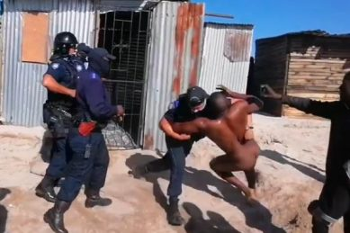'Naked man' dragged from shack, Qolani, describes horror ordeal