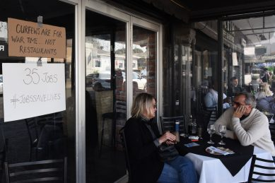 People are still too afraid to venture out to salons, restaurants