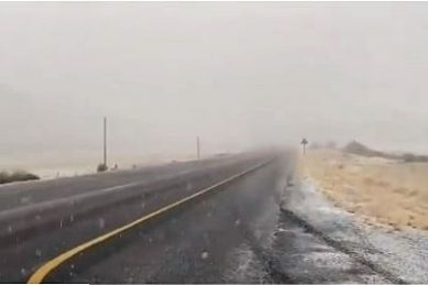 WATCH: Severe cold to hit Gauteng as snow falls in Free State, Karoo