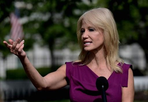 Trump's media pugilist Kellyanne Conway steps down