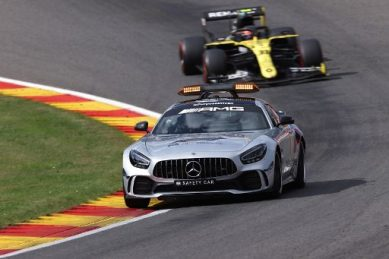 Russell admits 'very lucky' to avoid serious injury at Belgian GP