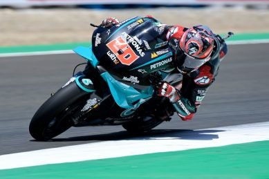 Quartararo eyes hat-trick with Marquez out of Czech MotoGP