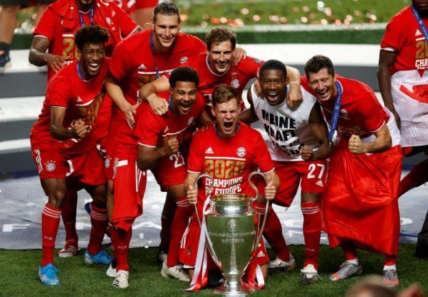 Bayern Munich beat PSG to win Champions League