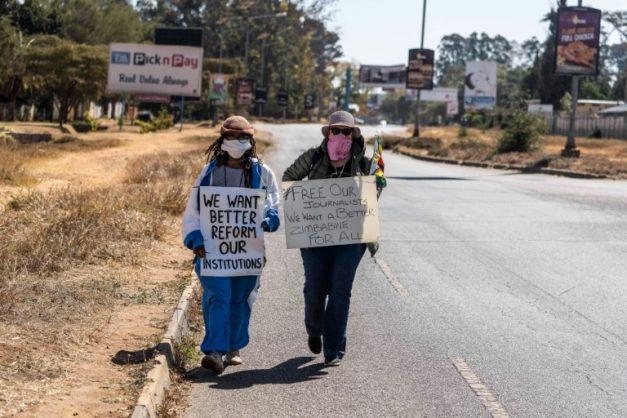 Novelist Tsitsi Dangarembga, Zimbabwe's 'conscientious citizen'