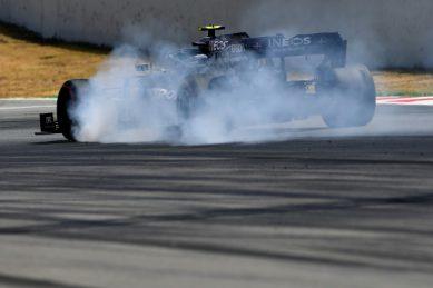 Bottas tops Hamilton as Mercedes return to form