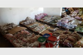 PICS: 19 arrested as cops seize expired food dating from 2010 at warehouse - Citizen
