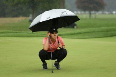 Kang, Boutier, Ewart Shadoff share lead in LPGA return