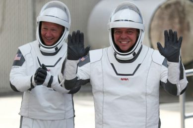 US astronauts prepare for SpaceX-NASA return home from ISS