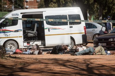 Three officers shot, one suspect killed in shootout outside Pretoria hospital