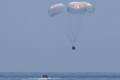 'Like an animal': NASA astronauts describe noisy, jolting descent