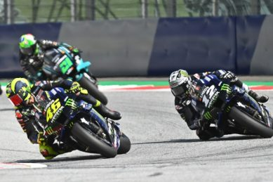 Rossi says riders need to 'improve behaviour' after dramatic near-miss